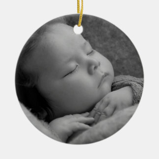 Custom Personalized Photo Ornament