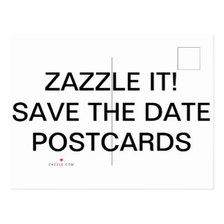 Custom Personalized Photo Save The Date Postcards