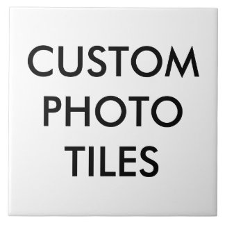 Custom Personalized Photo Tile Blank Template