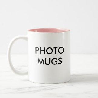 Custom Personalized Photo Two-Tone Mug Blank
