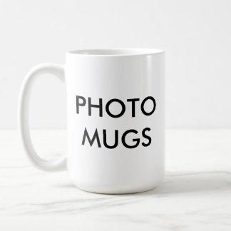 Custom Personalized Photo White Mug Blank