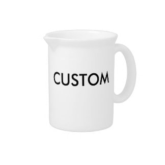 Custom Personalized Pitcher Blank Template