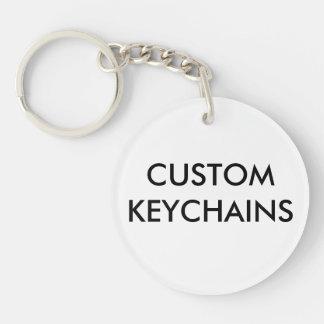 Custom Personalized Round Keychain Blank Template