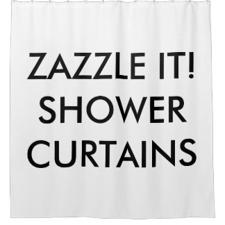 Custom Personalized Shower Curtain Blank Template