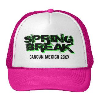 Custom personalized Spring Break party trucker hat