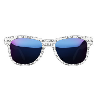Custom Personalized Sunglasses Blank Template