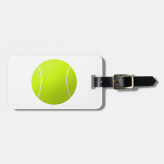 Custom Personalized Tennis Ball Gift Luggage Tag