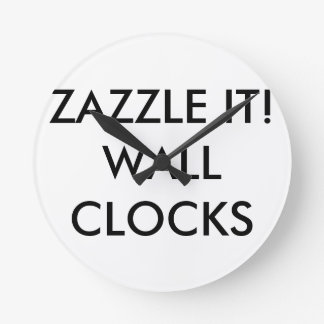 Custom Personalized Wall Clock Blank Template
