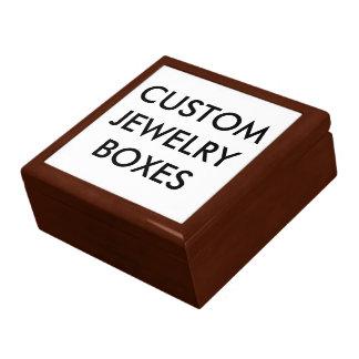 Custom Personalized Wooden Jewelry Box Blank