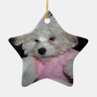 Custom Pet Photo Theme Christmas Tree Ornament