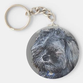 Custom Pet Portrait Keychain