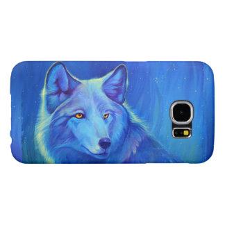 Custom Phone Cases Galaxy s6   Blue Wolf Designs
