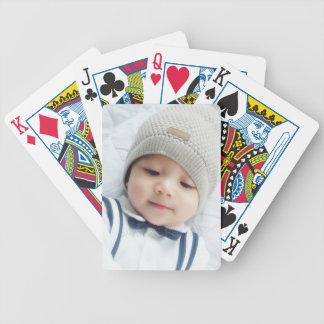 Custom Photo Bicycle Playing Cards