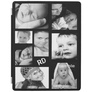 Custom Photo Collage Customizable iPad Cover