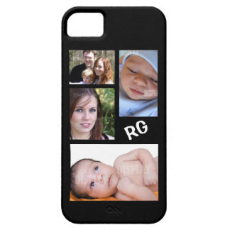 Custom Photo Collage Customizable iPhone 5 Case