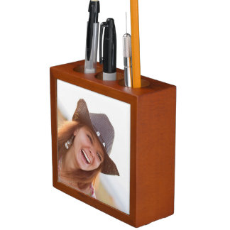 Custom Photo Desk Organiser