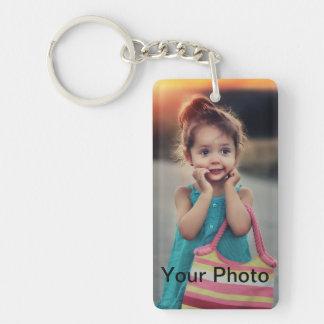 Custom Photo Double-Sided Keychain