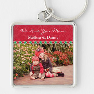 Custom Photo Frame Large Premium Keychain