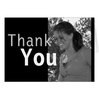 Custom Photo Graduation Thank You Card