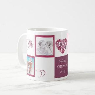 Custom Photo Happy Mother's Day White Classic Mug