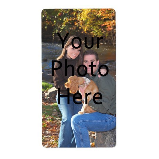Custom Photo Labels