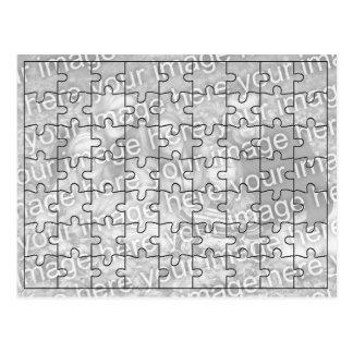 "Custom Photo ""Mock"" Puzzle Post Card-63 pieces"