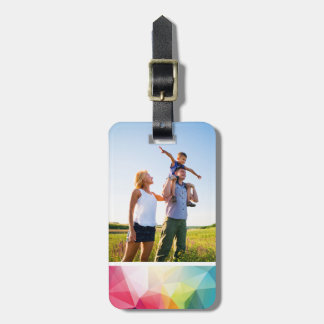 Custom Photo Modern Design Luggage Tag