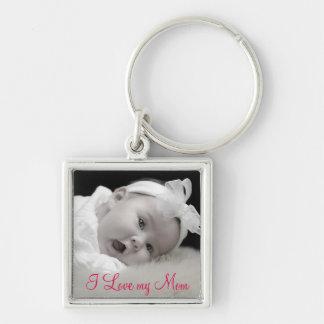 Custom Photo, Mom, Mother's Day Key Ring