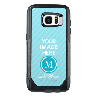 Custom Photo Monogram OtterBox Samsung Galaxy S7 Edge Case