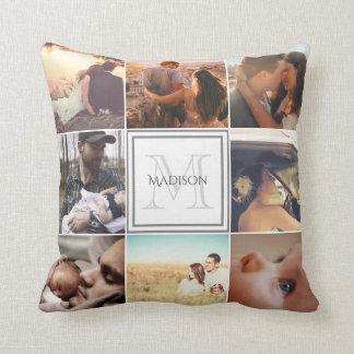 Custom Photo Montage Cushion