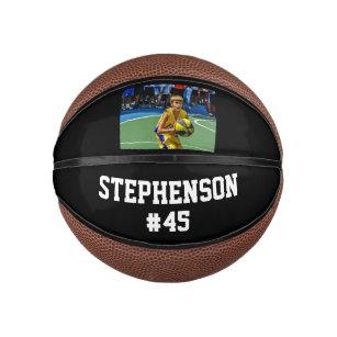 Custom Photo Name Basketball Ball