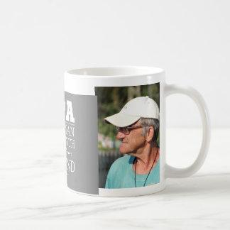 Custom Photo Opa The Legend Basic White Mug