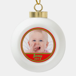 Custom Photo Ornament Upload Your Photo
