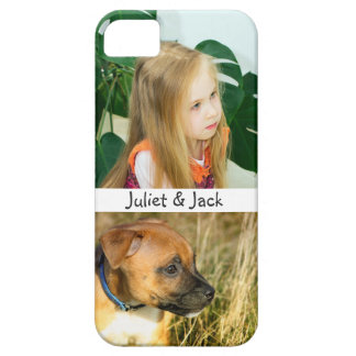 Custom Photo Personalized Barely There iPhone 5 Case