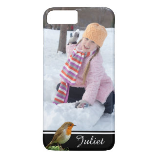 Custom Photo Personalized Robin iPhone 8 Plus/7 Plus Case