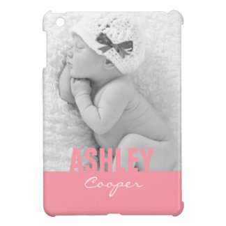 Custom Photo Pink iPad Mini Case
