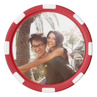 Custom Photo Poker Chips