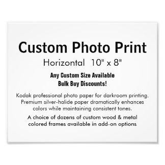 "Custom Photo Print - Horizontal 10"" x 8"""