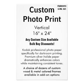 "Custom Photo Print - Vertical 16"" x 24"""