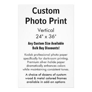 "Custom Photo Print - Vertical 24"" x 36"""