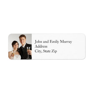 Custom Photo Return Address Labels