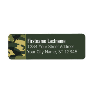 Custom Photo Return Address Labels