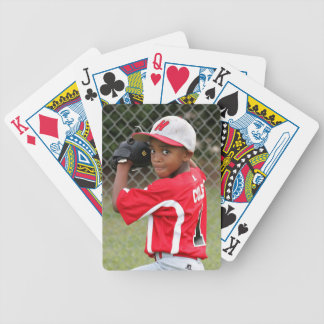 Custom photo sports playing cards - great gift!