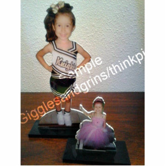 Custom Photo Statue Sculptures with your picture! Photo Cut Outs