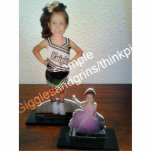 Custom Photo Statue Sculptures with your picture! Standing Photo Sculpture