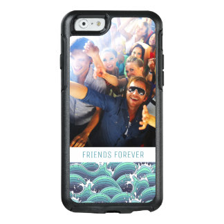 Custom Photo & Text Decorative Sea Wave OtterBox iPhone 6/6s Case