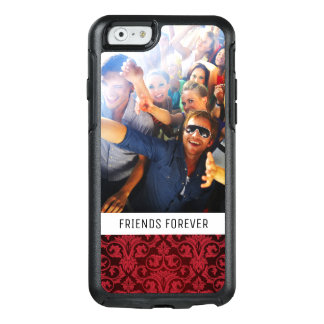 Custom Photo & Text Red wallpaper 2 OtterBox iPhone 6/6s Case