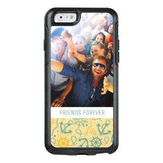 Custom Photo & Text Retro Anchor & Ropes OtterBox iPhone 6/6s Case