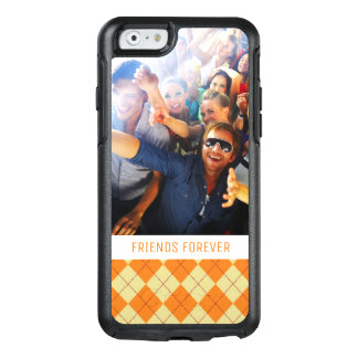 Custom Photo & Text Sweater Background OtterBox iPhone 6/6s Case