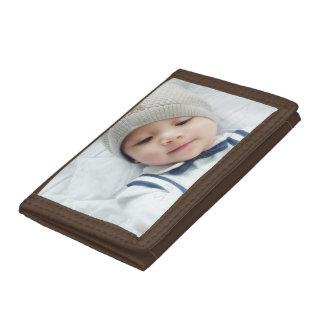 Custom Photo Tri-fold Wallet